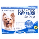 Flea + Tick Defense for Dogs and Puppies Up to 22-Pound, 3 Doses