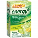Emergen-C Energy Plus Packets, Lemon-Lime, 18 Ct