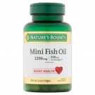 Natures Bounty Premium Strength Fish Oil Mini Softgels 90ct