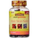 Nature Made Hair Skin and Nails Adult Gummies Mixed Berry 90ct