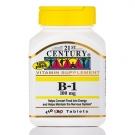 21st Century B-1 100 mg Tablets, 110 Ct