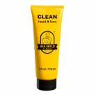 Bee Bald Clean for Head & Face, 4 oz