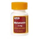 Rugby Melatonin Tablets, 3mg, 60ct