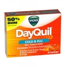 Vicks® Dayquil Multisymptom Cold & Flu Relief LiquiCaps, Non-Drowsy- 24ct