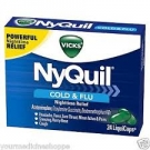 Vicks® Nyquil Cold & Flu Relief LiquiCaps- 24ct