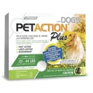 PetAction Plus Medium, Dog 23-44lbs- 3 Dose Topical Solution