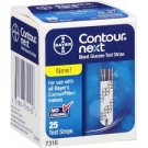Bayer Contour Next Blood Glucose Test Strips- 25ct