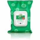 Yes to Cucumbers Soothing Hypoallergenic Facial Towelettes- 25ct