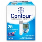 Bayer Contour Blood Glucose Test Strips- 25ct