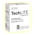 Techlite Lancets 25G- 100ct