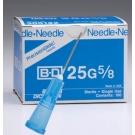 BD 305122, Regular Bevel Needles 25 Gauge, 5/8