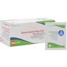 Dynarex Large Sterile Alcohol Prep Pads - 100 Pads