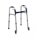 Drive Deluxe Trigger Release Folding Walker with 5
