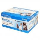 Ulticare VetRx  U-40 Insulin Syringe 29 Gauge, 3/10cc, 1/2