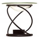 Aura Cacia Spiral Candle Lamp, Black, 1 ct