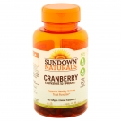 Sundown Super Cranberry Plus Vitamin D3 1000 IU Softgels, 8400 mg, 150ct
