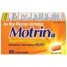 Motrin IB (200mg) - 100 Caplets