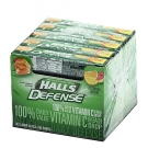 Halls Defense Vitamin C  Supplement Drops, Assorted Citrus - 9ct/20 Pack