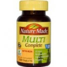 Nature Made Multi Complete Dietary Supplement Tablets- 30ct
