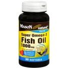 Mason Natural Super Omega-3 Fish Oil 1000 mg Softgels 30ct