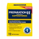 Preparation H Hemorrhoidal Suppositories, 12ct