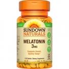 Sundown Melatonin 3 mg Tablets 120ct