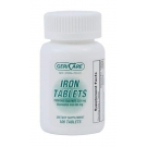 Geri-Care Ferrous Sulfate (325mg) - 100 Tablets