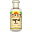 Sundown Naturals Pure Vitamin E Oil, 70000 IU 2.5 fl oz