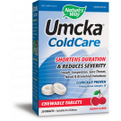 Nature's Way Umcka ColdCare Chewable, Cherry, 20 ct