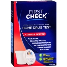 First Check Home 7 Drug Test , 1 test