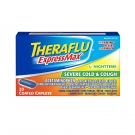 Theraflu ExpressMax Nighttime Severe Cold; Cough, Coated Caplets, 20 Count