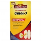 Nature Made Omega 3 Softgels 60ct