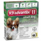 Advantix II K-9  (For Small Dogs, 10 lbs & Under) - 4 Pack (Green)
