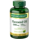 Nature's Bounty Flaxseed Oil 1200mg - 125 Softgels