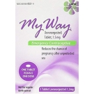My Way Emergency Contraceptive Levonorgestrel 1.5 mg, 1 ct
