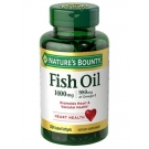 Nature's Bounty Fish Oil 1400mg Softgels, 39ct