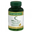Nature's Bounty Chewable Vitamin C-500mg With Rose Hips, 90 Tablets
