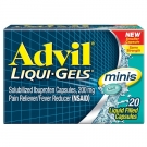 Advil Liqui-gel Minis Pain Reliever & Fever Reducer - 20ct