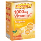 Emergen-C Vitamin C Fizzy Drink Mix Tangerine 1000 mg - 10 Packets