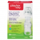 Playtex Drop in Liners for Nurser Bottles, 50 Count