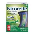 Nicorette Mini Lozenge 4mg, Mint- 81ct