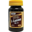 Watson L-Lysine, 500 mg- 100 Tablets
