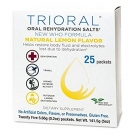 Trioral Oral Rehydration Salts, 0.72g- 25 Packets (Lemon Flavor)