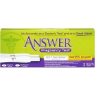 Answer Quick & Simple Pregnancy Test - 2ct