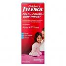Children's Tylenol Cold Cough and Sore Throat - Bubblegum - 4oz