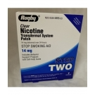 Rugby Nicotine Transdermal Patch, 14mg, 7ct