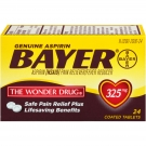 Bayer Aspirin 325mg Coated Tablets- 24ct