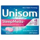 Unisom SleepMelts Cherry Flavor - 24ct