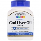 21st Century Norwegian Cod Liver Oil 110 Softgels