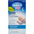 Hylands Baby Nighttime Mucus + Cold Relief Syrup - 4 Oz